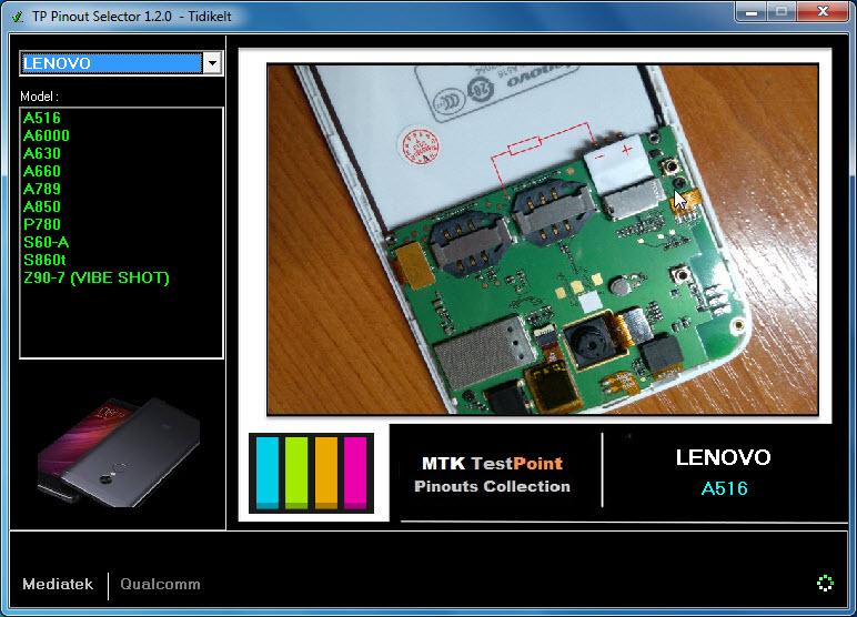 TestPoint Pinout Tool 1.2